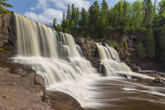 Gooseberry Middle Falls Stock Photo