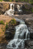 Gooseberry Middle & Lower Falls Royalty Free Stock Images