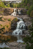 Gooseberry Middle & Lower Falls Stock Photography
