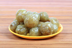 Gooseberry murabbba Stock Photography