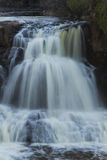 Gooseberry Upper Falls Half Royalty Free Stock Photography