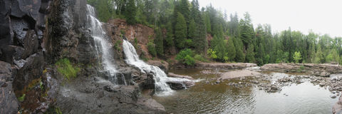 Goosebery Falls Royalty Free Stock Photo