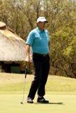 GOOSEN RETIEF前高尔夫球运动员 库存照片