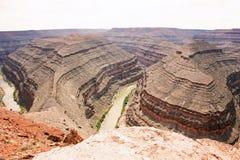 Goosenecks het Park van de Staat, Utah, 5 Royalty-vrije Stock Afbeelding