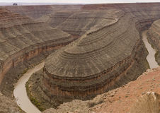 Goosenecks National Park in Arizona Royalty Free Stock Photos