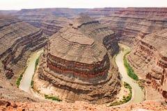 Goosenecks State Park, Utah, 3 Royalty Free Stock Photography