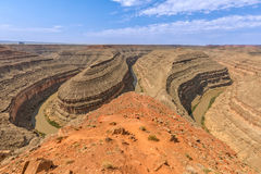 Goosenecks State Park Utah Landscape Stock Photos
