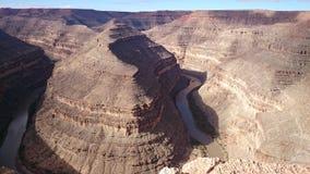 Goosenecks State Park, Utah, USA Royalty Free Stock Images