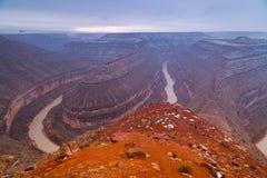 Goosenecks State Park in Utah Stock Photography