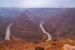 Goosenecks State Park in Utah Royalty Free Stock Photography