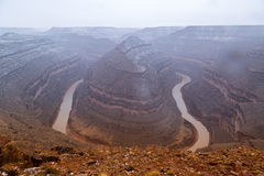 Goosenecks State Park in Utah Stock Images