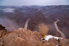 Goosenecks State Park in Utah Stock Image