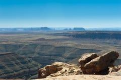 Goosenecks - Utah stockfotos