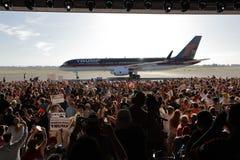 GOP总统候选人唐纳德・川普竞选在萨加门多, 免版税库存照片