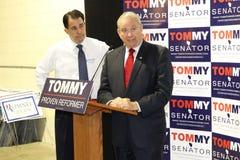 GOP de Candida van de Senaat de Leurder van Regering Scott, en van GOP de V.S. Stock Foto's