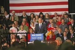 GOP Gov.露指手套Romney,美国总统候选人 库存图片