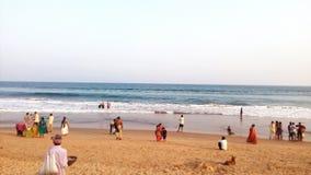 Gopalpur, sea beach, Odisha, India. Tourism, tourist, spot, sea shore Stock Photo