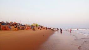 Gopalpur, sea beach, Odisha, India. Tourism, tourist, spot, sea shore Stock Photos