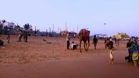 Gopalpur, sea beach, Odisha, India. Tourism, tourist, spot, sea shore Royalty Free Stock Photo