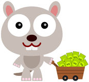Gopher got rich Stock Image