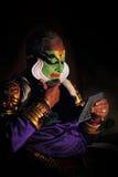 Gopi asan del artista de Kathakali Fotos de archivo libres de regalías