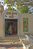 Gopi-Krishna temple Royalty Free Stock Images