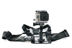 Gopro照相机在演播室 图库摄影