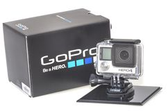 GoPro英雄4 免版税库存照片