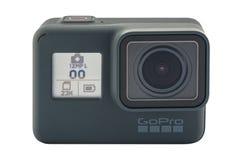 GoPro被隔绝的英雄6黑色 图库摄影