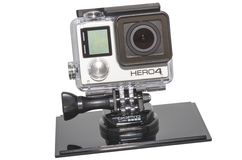 GoPro 4 Stockfotos