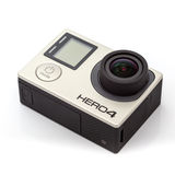 GoPro HERO4 Black Edition camera Royalty Free Stock Photo