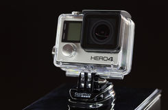 GoPro HERO4 Black Edition isola Royalty Free Stock Photos