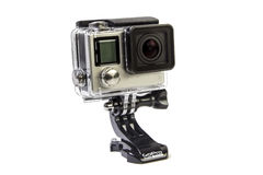 Gopro Hero4 Black Edition Royalty Free Stock Photography