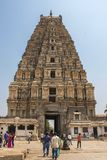 Gopur del templo de Virupaksha imágenes de archivo libres de regalías