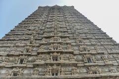 Gopura виска Murdeshwar в Индии стоковые фотографии rf