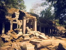 Gopura на животиках Prohm Стоковые Фотографии RF