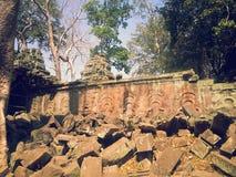Gopura на животиках Prohm Стоковые Фото