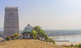 Gopura av den Murudeshwar templet Royaltyfri Bild