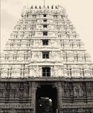 Gopura Gopuram - A Gate in Hindu Temples of Dravidian Style Stock Photography