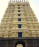 Gopura Gopuram - uma porta em templos hindu do estilo de Dravidian Imagem de Stock Royalty Free