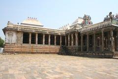 gopuram寺庙 免版税库存照片