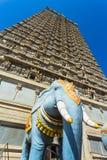 Gopuram av den Murudeshwar templet Fotografering för Bildbyråer