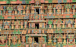 The gopuram of Deity Stock Photography