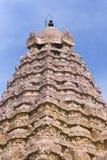 The Gopuram on top of the Karpa Graham. Royalty Free Stock Photos