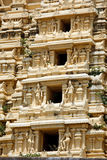 Gopuram (tower) of Hindu temple Royalty Free Stock Photos