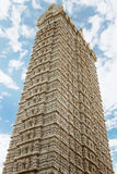 Gopuram tower in the temple of Shiva Royalty Free Stock Photography