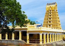 Gopuram von Shri Chamundeshwari-Tempel, Mysore Stockfotografie