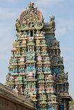 Gopurams of the Meenakshi temple Royalty Free Stock Photos