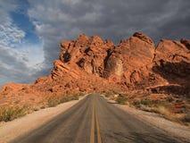gorąca autostrady czerwień Obraz Royalty Free
