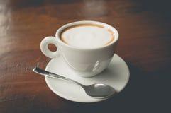 gorąca cappuccino kawa obraz stock